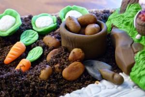 Eine Winnie-Pooh-Torte zum 3. Geburtstag!