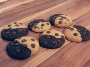 Erbnussbutter-Schoko-Kekse