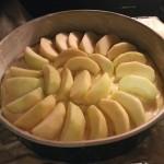 Versunkener Apfelkuchen – Mit Knuspertrick