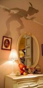 Fundstück des Tages: Peter Pans Schatten