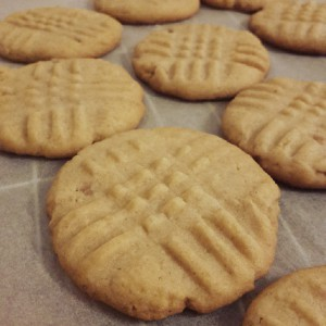 Erdnussbuttercookies