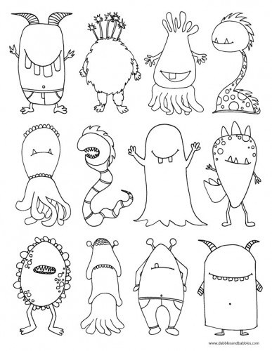 Monters_coloring_page