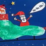 DIY Weihnachtsgeschenke Hand- und Fußabdruck
