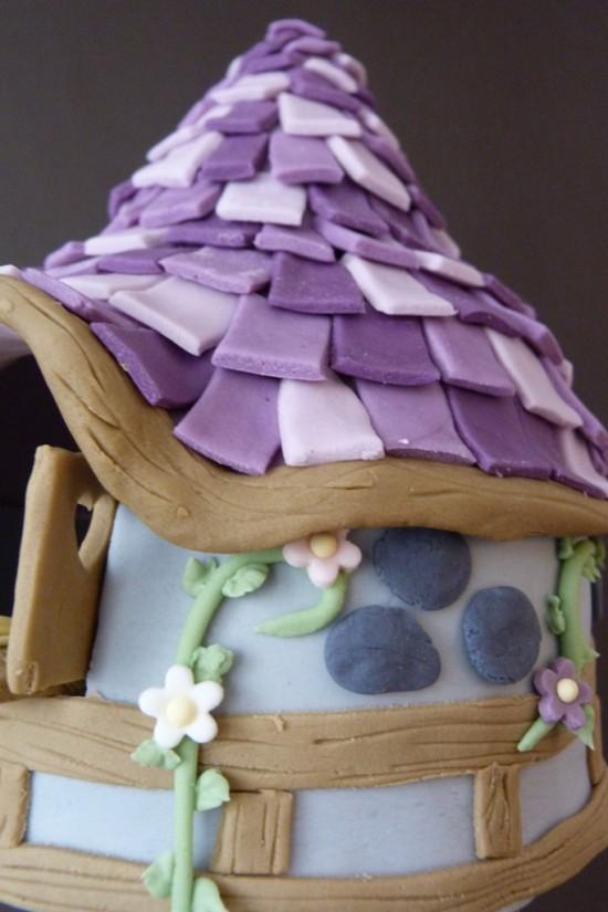 Rapunzel Turm Torte