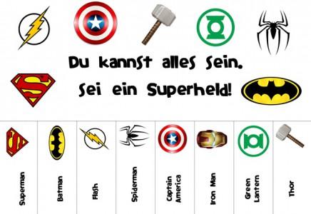 Superheld, Superhero