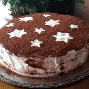 Zimt-Mascarpone-Torte