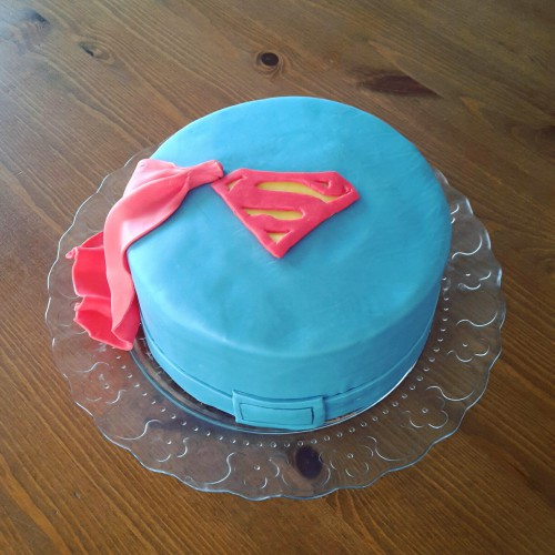 Superman Motivtorte