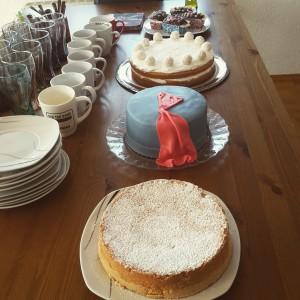 Geburtstag Kuchenbuffet