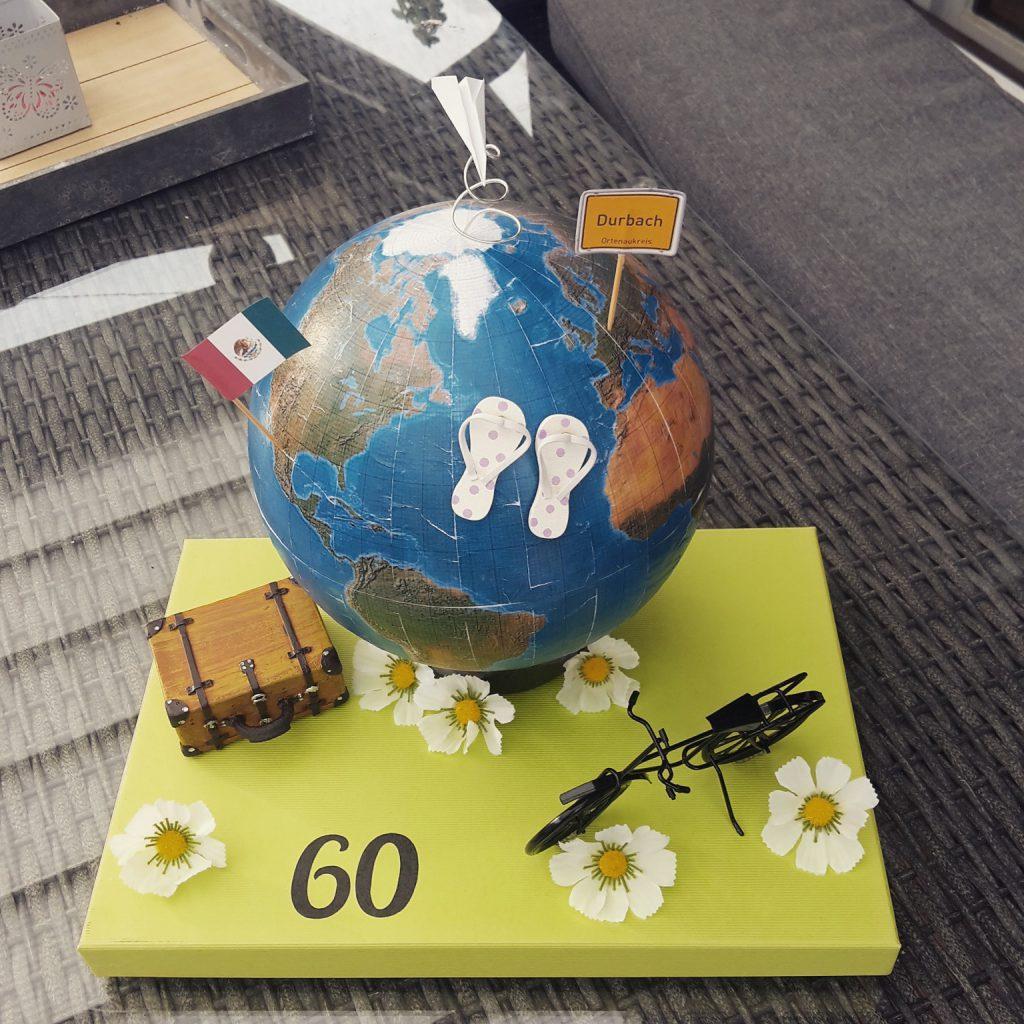 Geschenk zum 60. für Weltenbummler