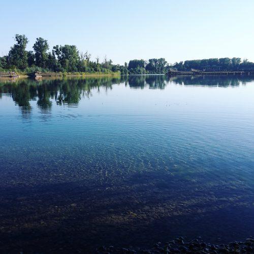 Denn See genießen